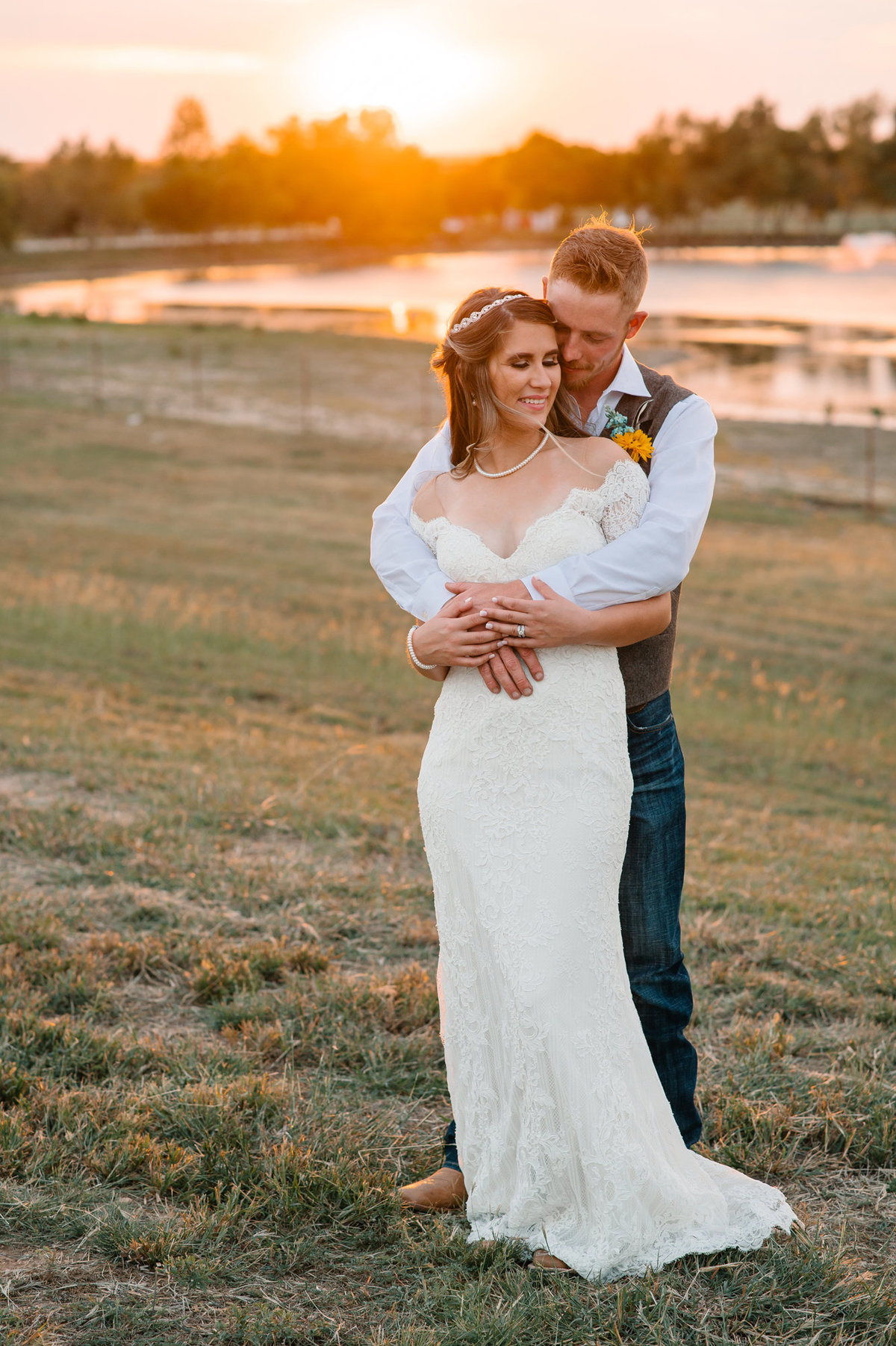 Rolling Hills Ranch Decatur wedding