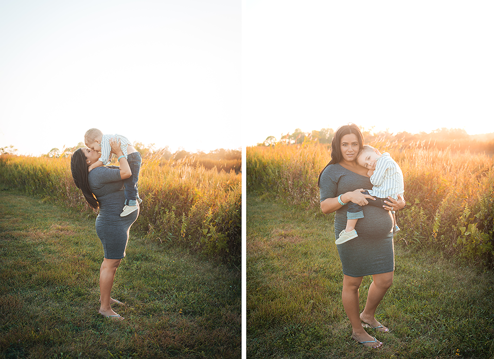 Sunlight Maternity Session | Beach Maternity Session | Silversands Beach Maternity Photography Session | Milford CT Maternity Photographer