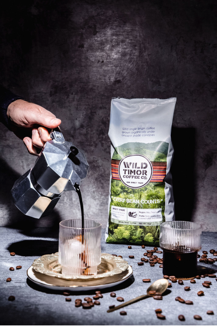 wild timor coffee product