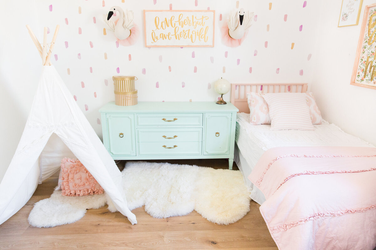 Style Me Pretty The Posh Home Toddler Room