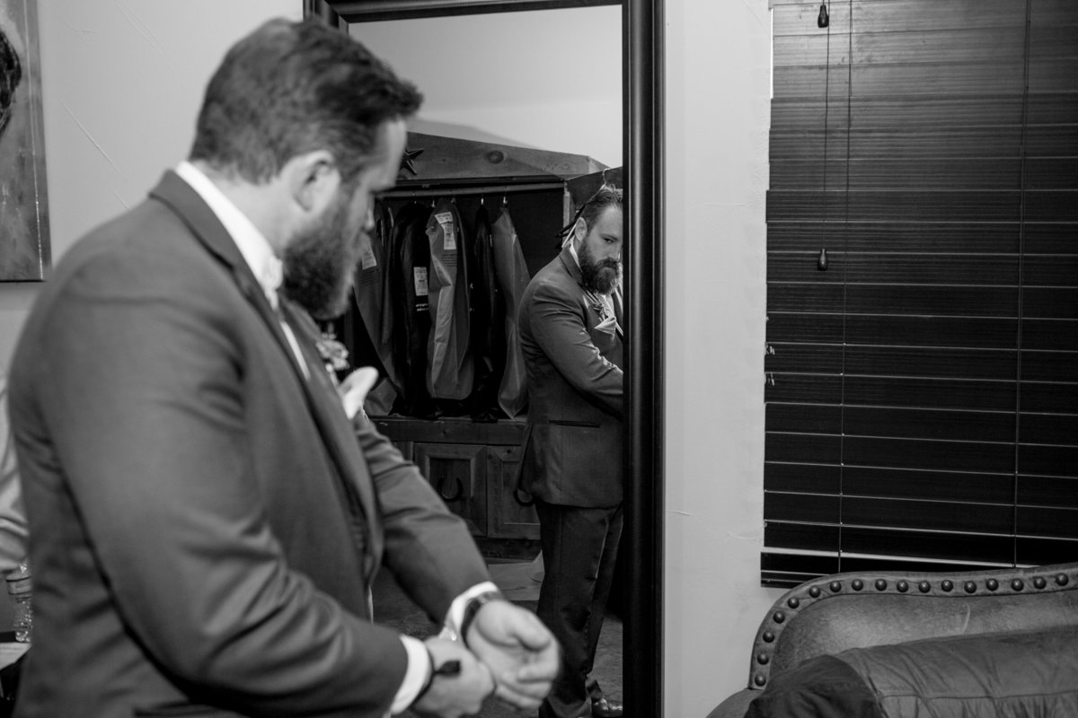 Austin Family Photographer, Tiffany Chapman Photography groom getting ready photo