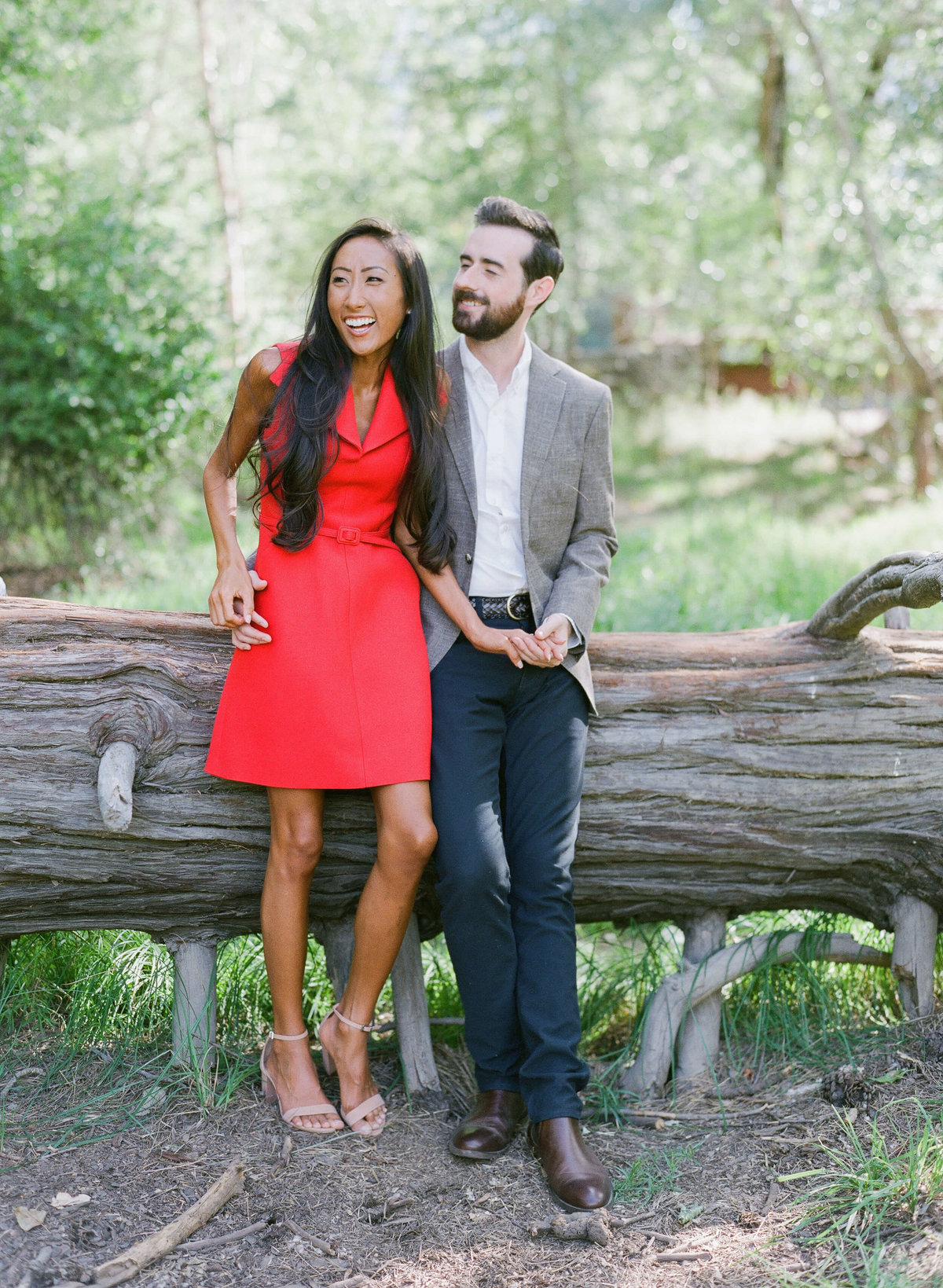 49-KTMerry-destination-engagement-Yosemite-couple-tree