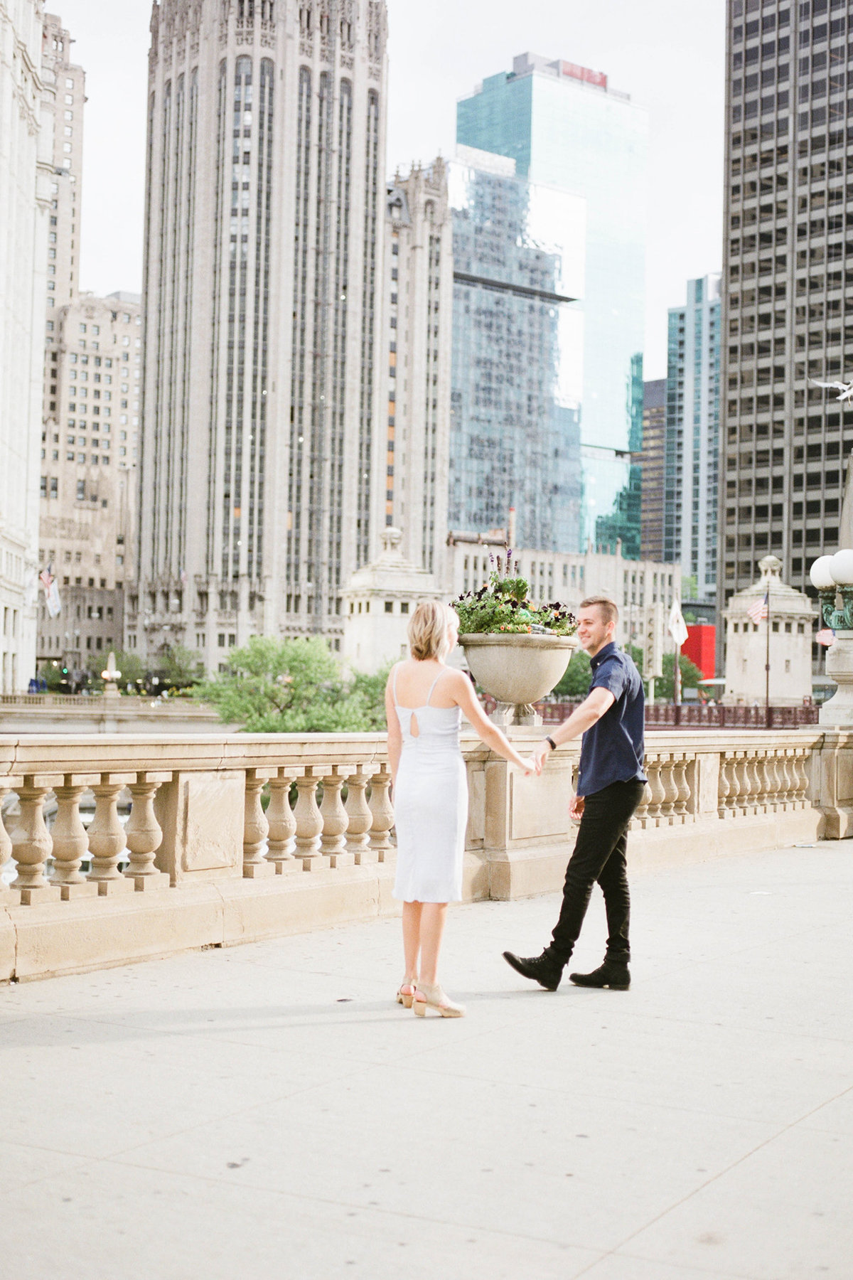 Chicago Wedding Photographer - Fine Art Film Photographer - Sarah Sunstrom - Sam + Morgan - Engagement Session - 8