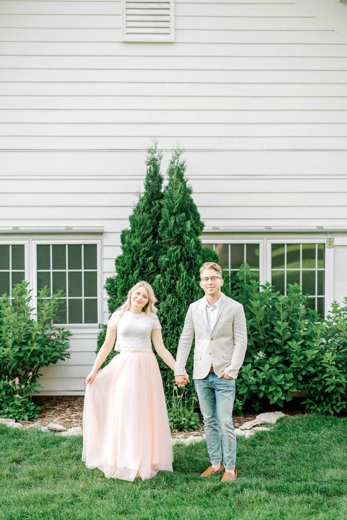 Mayowood Stone Barn Wedding  Photographer Engagement Session