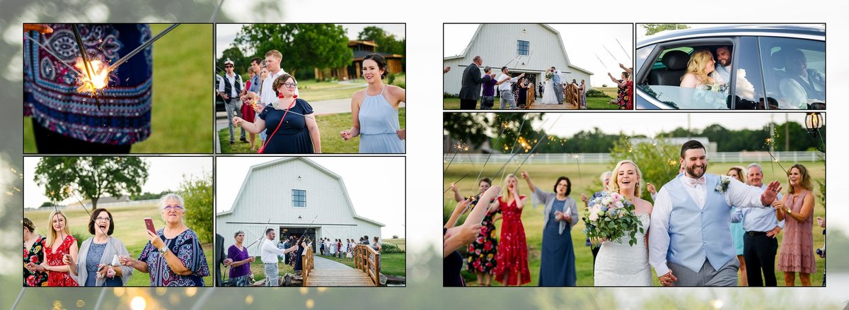 Wedding at The Morgan Creek Barn in Aubrey, Texas