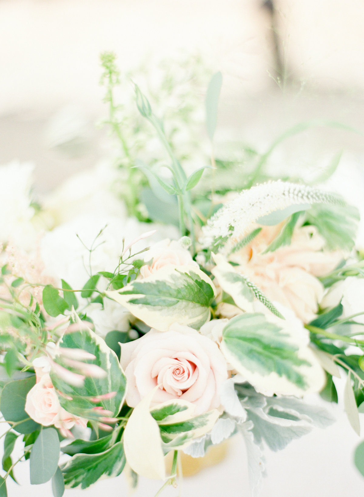 Blush Rose Wedding Florals