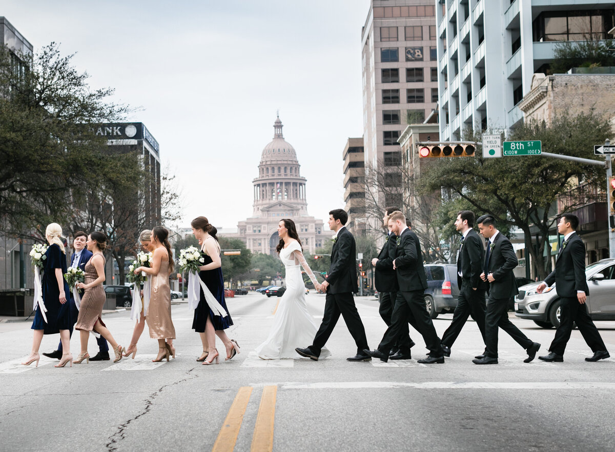 congress avenue wedding photos austin