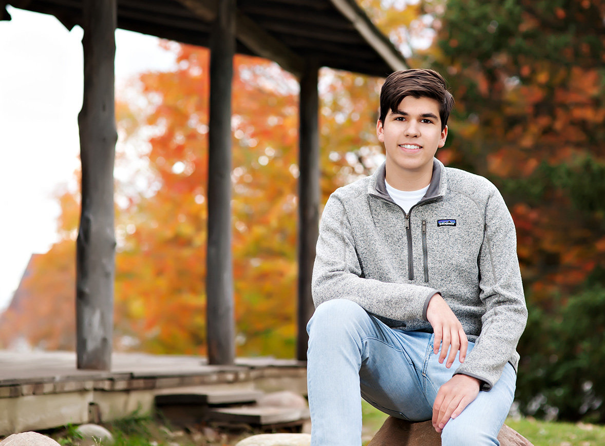 lansing michigan senior portrait studio