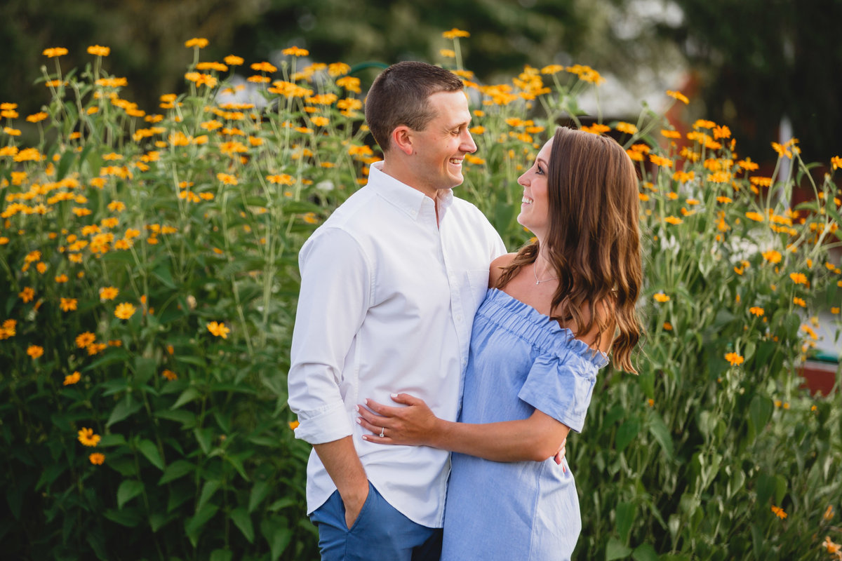 Springton Manor Engagement Session Chester County PA 05