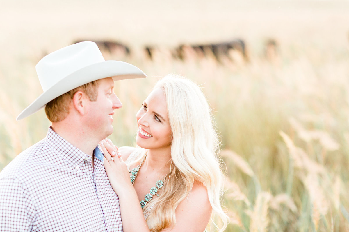 Roos Ranch Roff Oklahoma Engagement Session