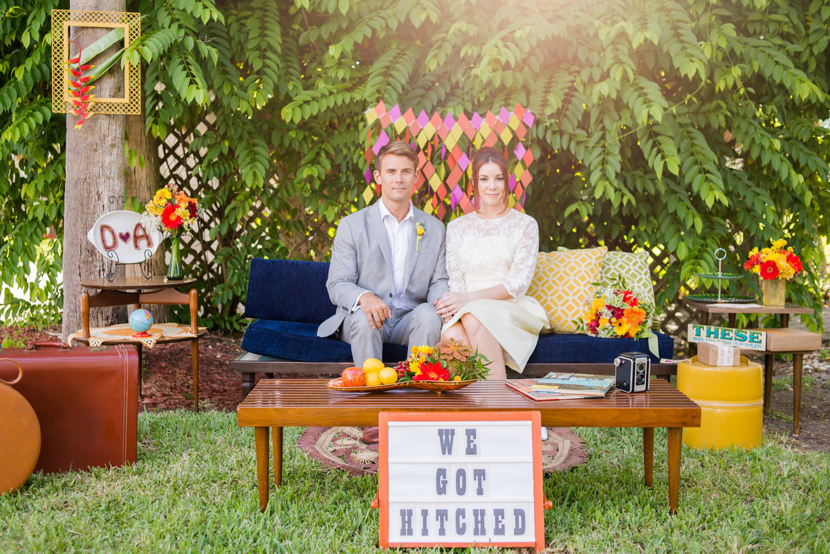 Miami Wedding Photographer | Retro Vintage Wedding 16