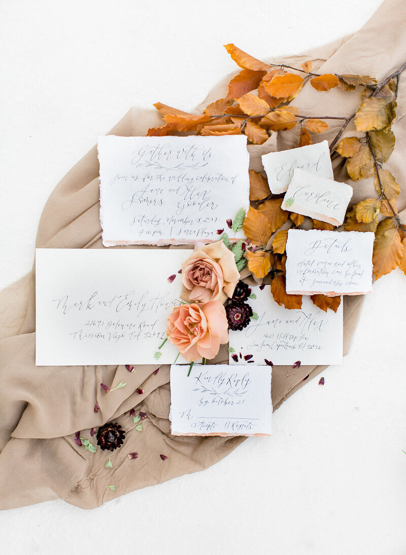 pirouettepaper.com | Wedding Stationery, Signage and Invitations | Pirouette Paper Company | Fall Inspiration | Lovisa Photography _ (4)