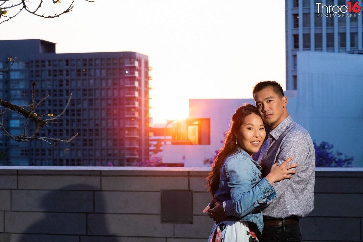 Walt Disney Concert Hall Engagement Photos Los Angeles County Weddings Professional