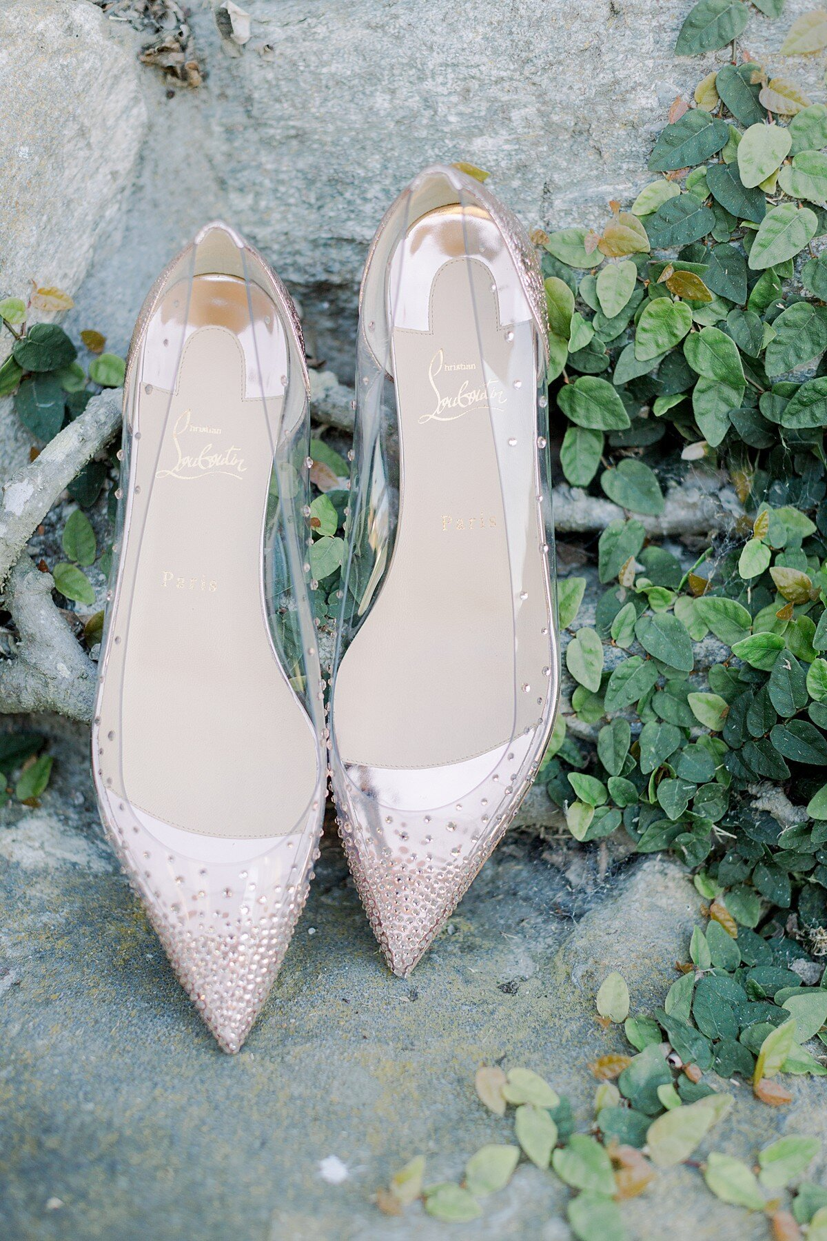 christian louboutin wedding shoes at the Lodge at Torrey Pines