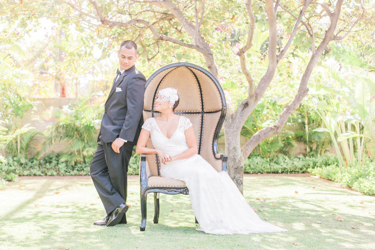 Hawaii Wedding Featured on Style Me Pretty Wedding Blog