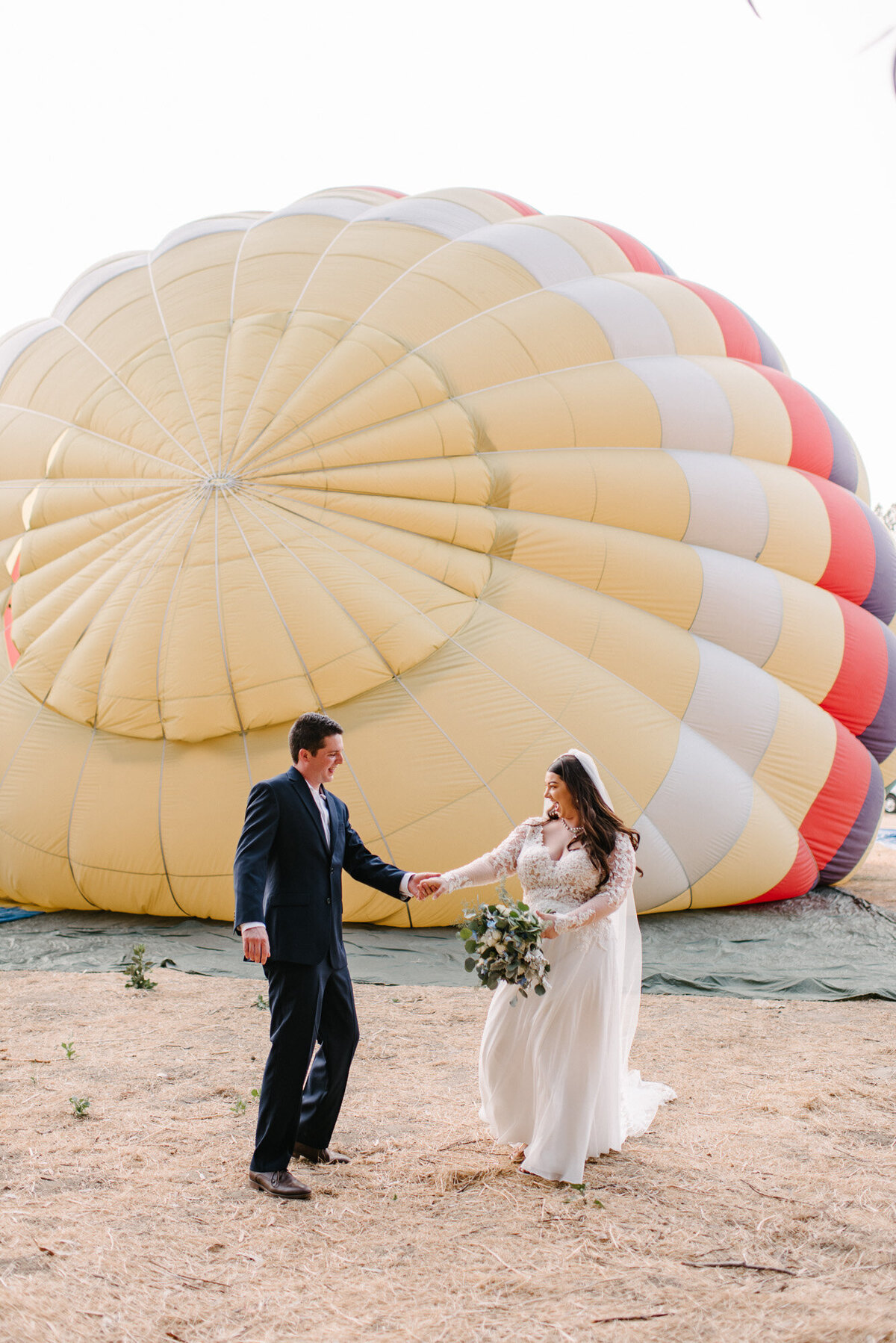 Hot Air Balloon Elopement Marie Monforte Photography-100