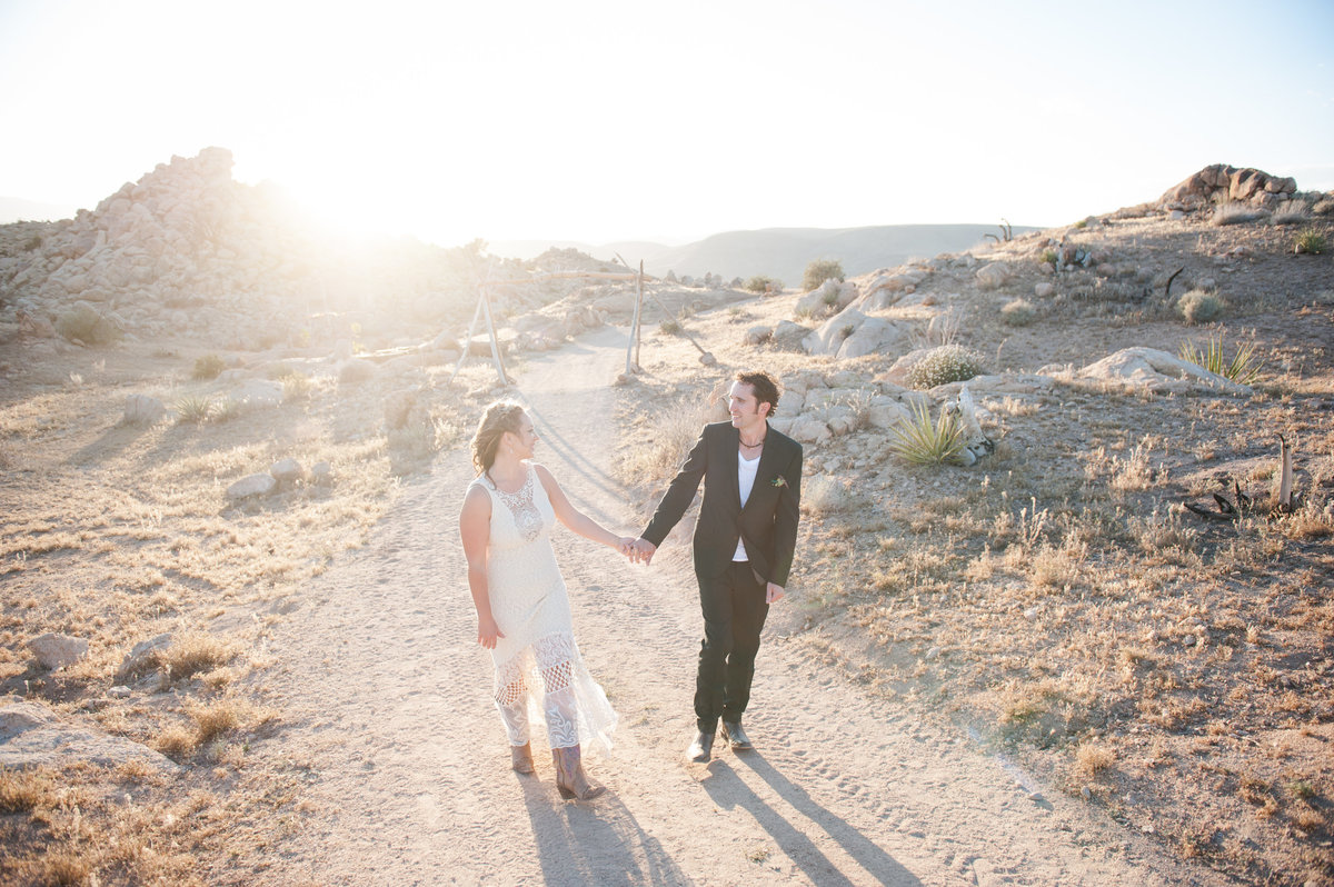 Destination Wedding Photography Joshua Tree Wedding Photography Le Haut Desert Aerie079