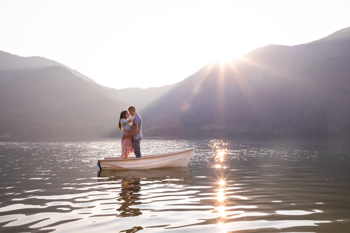 Wahleach Lake Adventure Engagement Chilliwack Elopement (7)