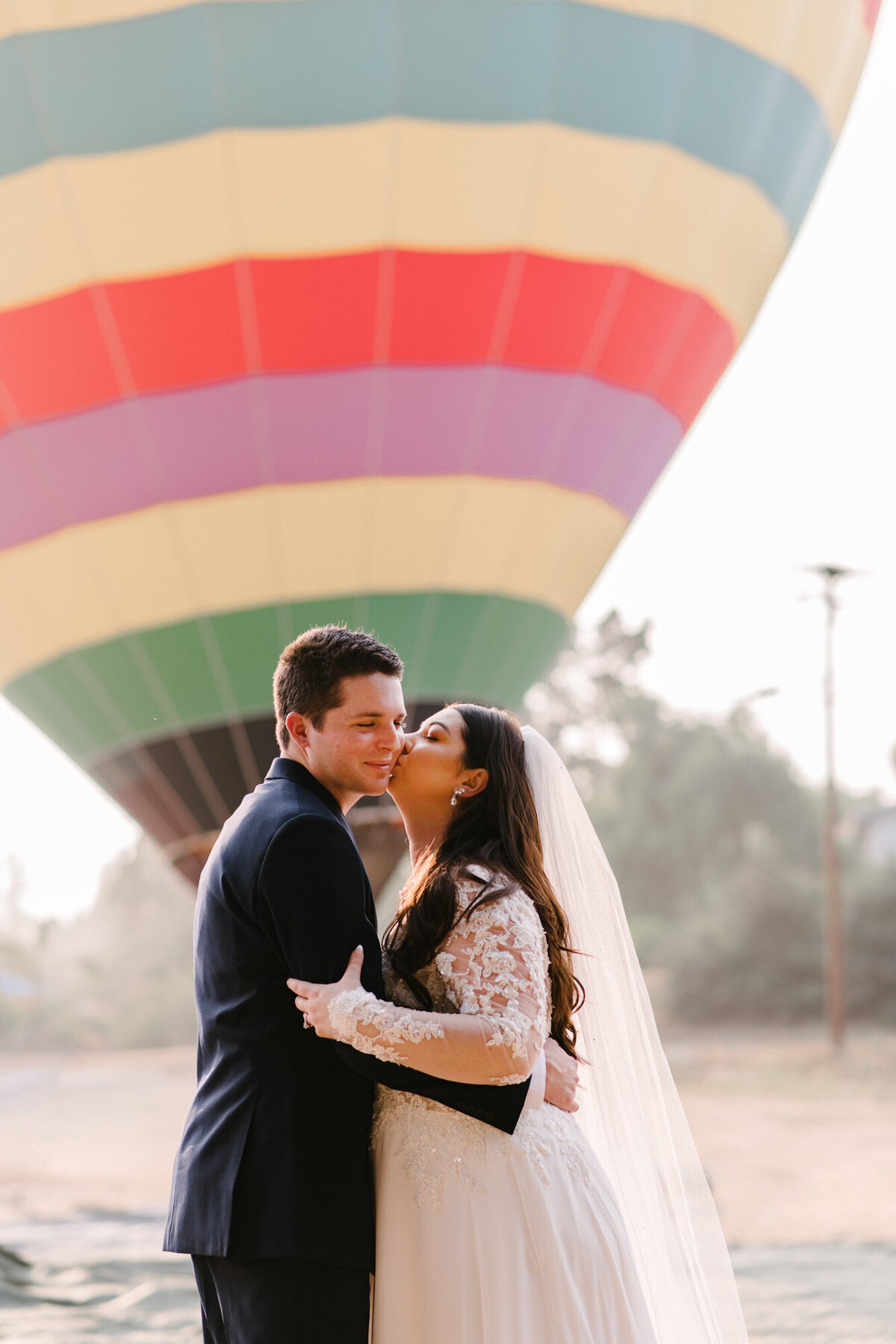 Hot Air Balloon Elopement Marie Monforte Photography-105