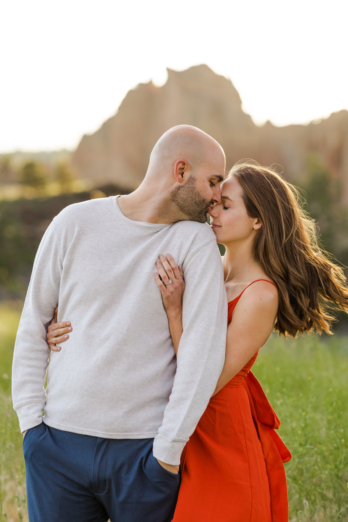 Smith Rock Engagement Session - Bend Oregon-94