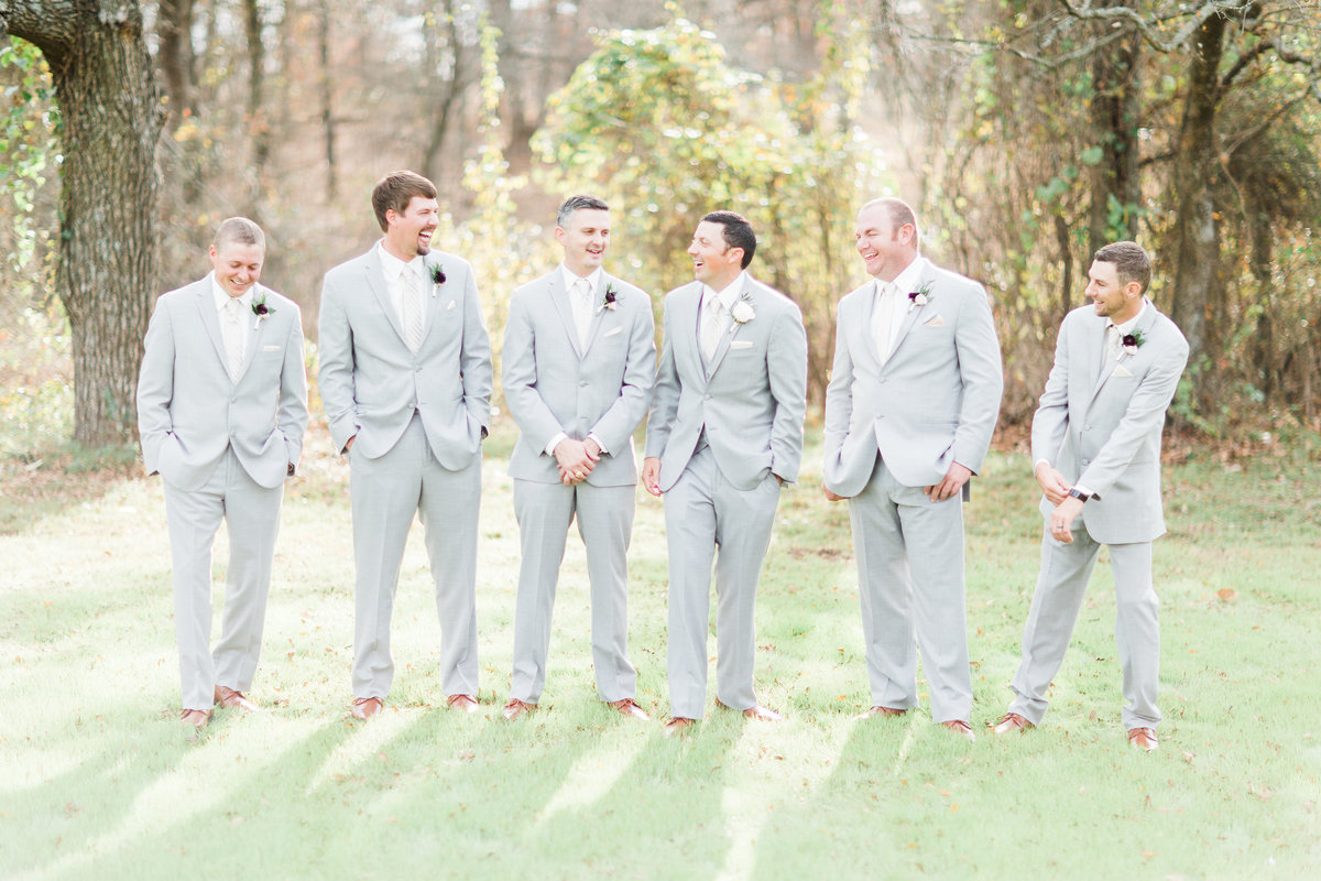 The Milestone Morgan Creek Barn Walters Estates Groomsmen