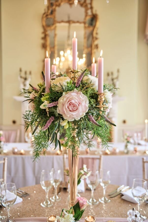 Dusky pink and gold wedding Prestwold Hall sm (15)