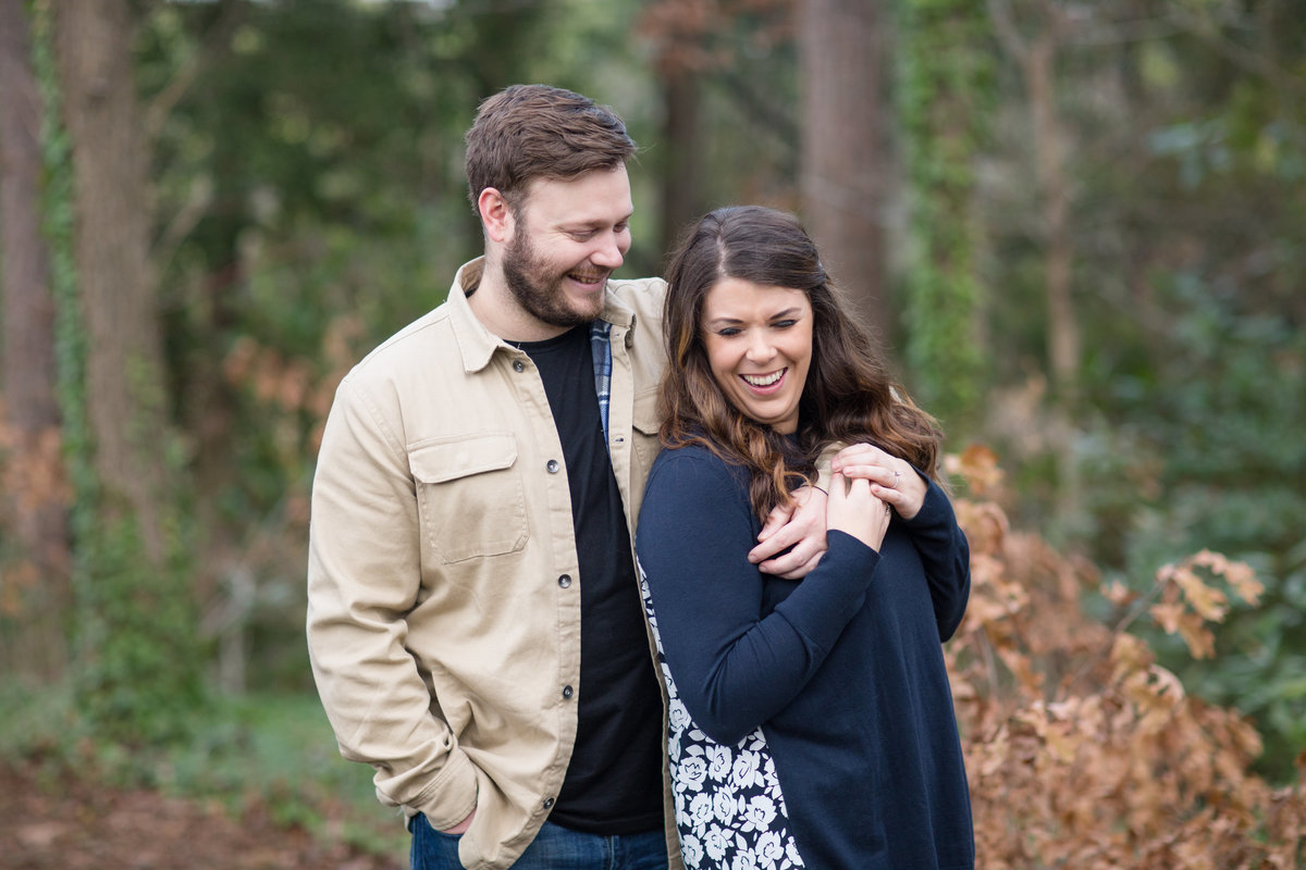 fun fall engagement pictres