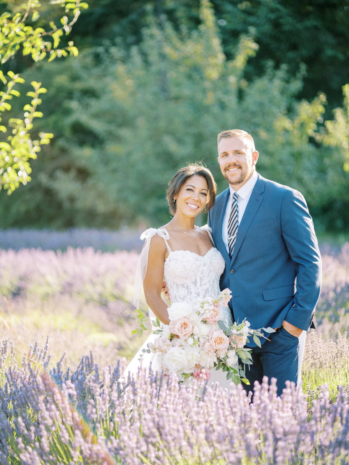 Seattle Lavender Wedding