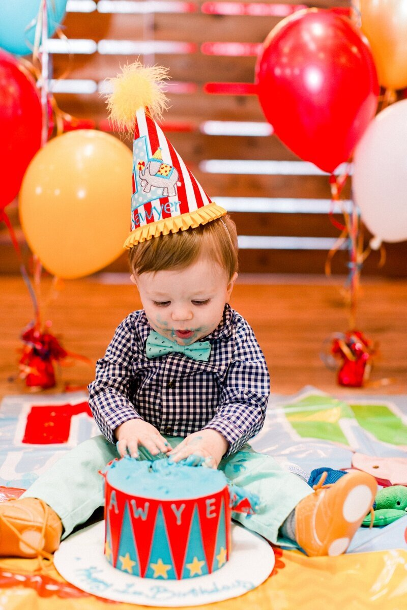 Circus Themed 1st Birthday Indianapolis Party Planner_0140