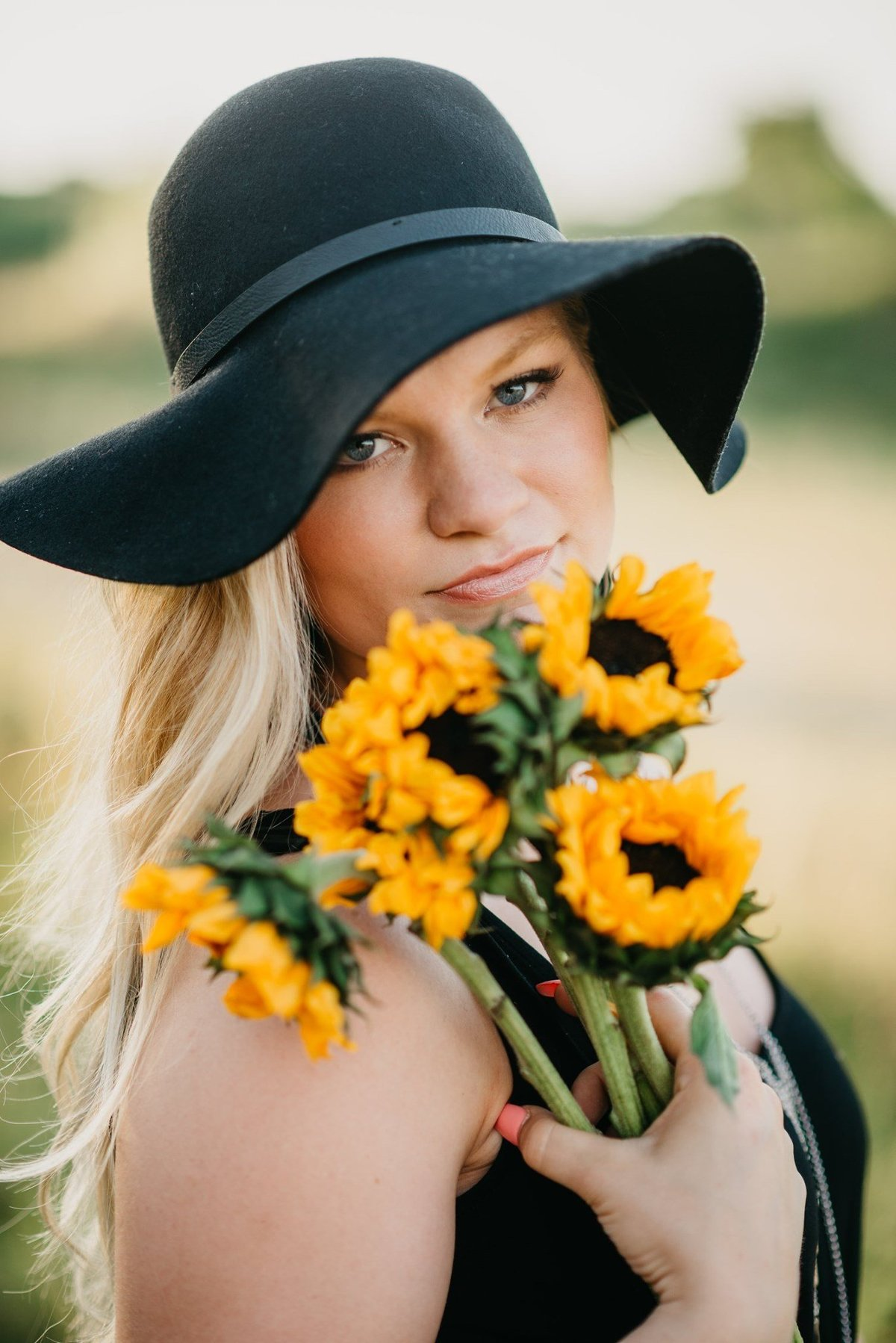 Senior Session Sun Flowers