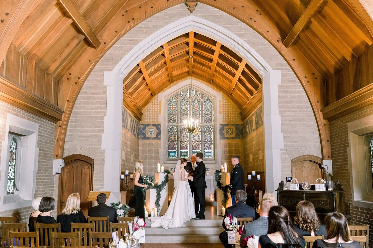 Alvirne Chapel Wedding NH By Halie-Ceremony-23