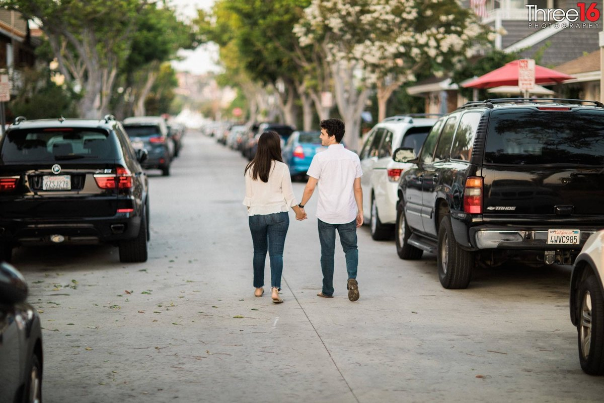 Balboa Island Engagement Photo Session Newport Beach Orange County  Photographer