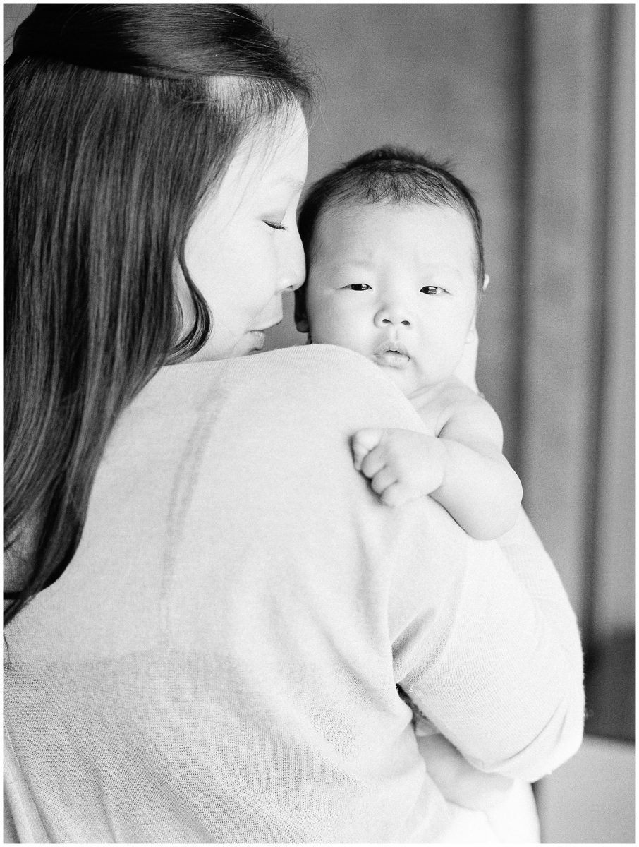 newborn family photos in los angeles
