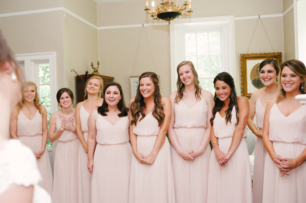 Bridesmaids' Reveal in Athens, GA
