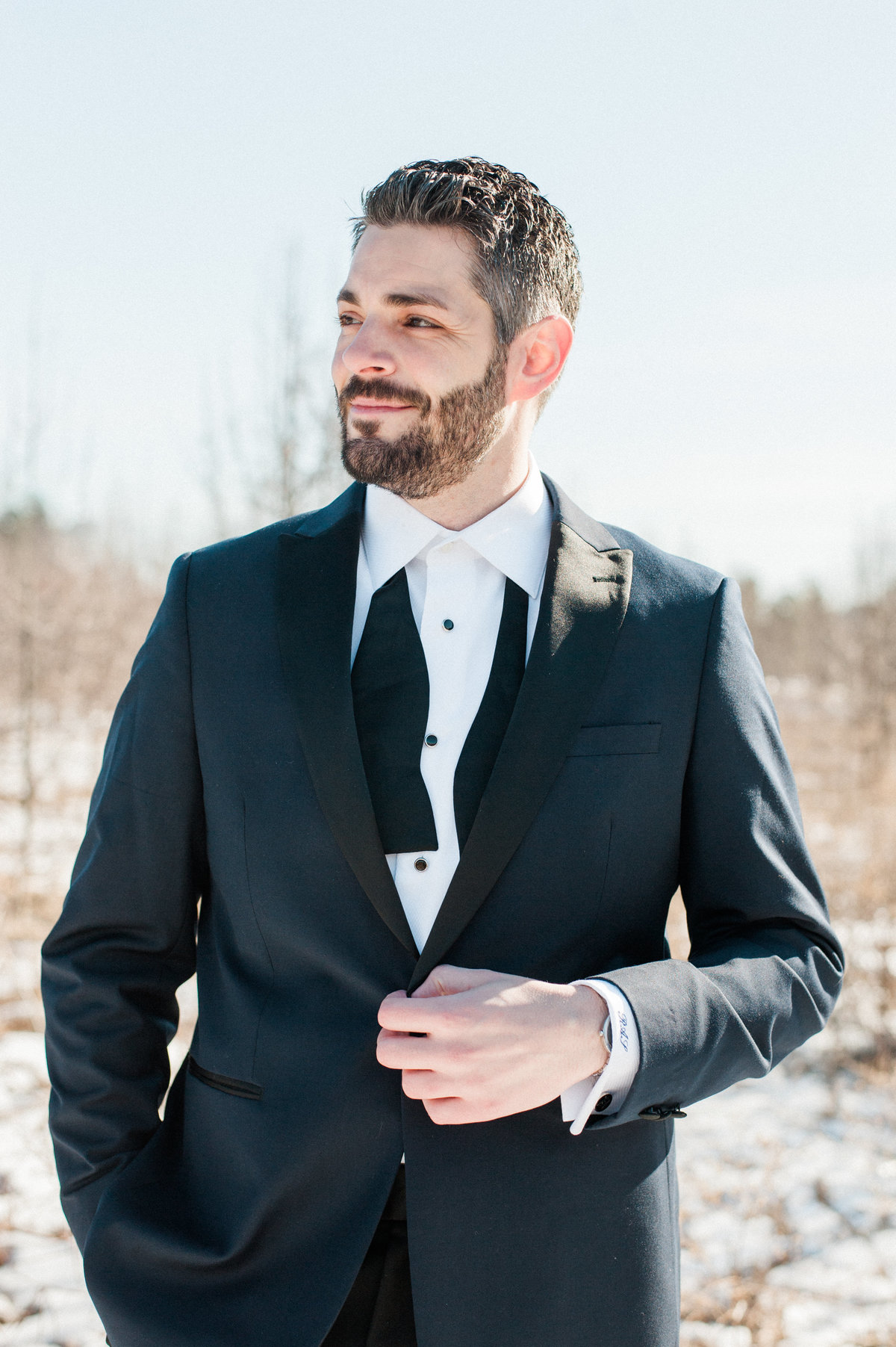 groom-blue-suit-bow-tie-photo