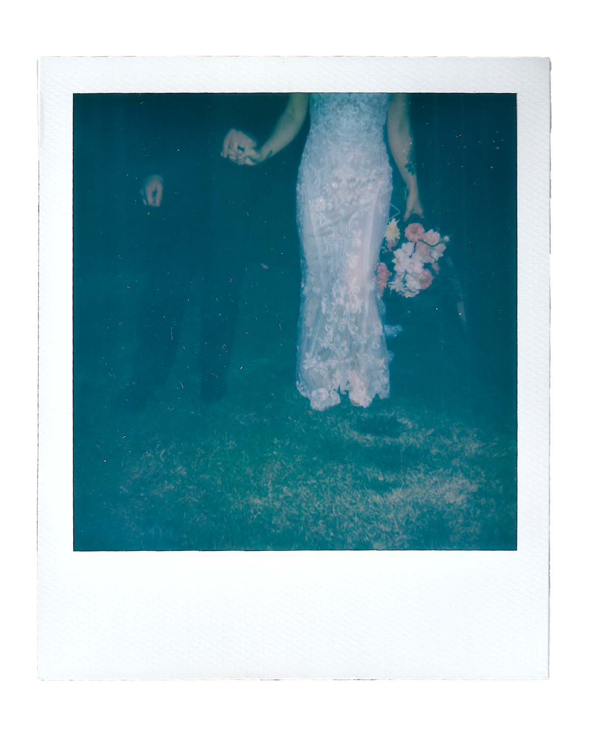 Laura + Brett | Backyard Wedding Polaroids00006