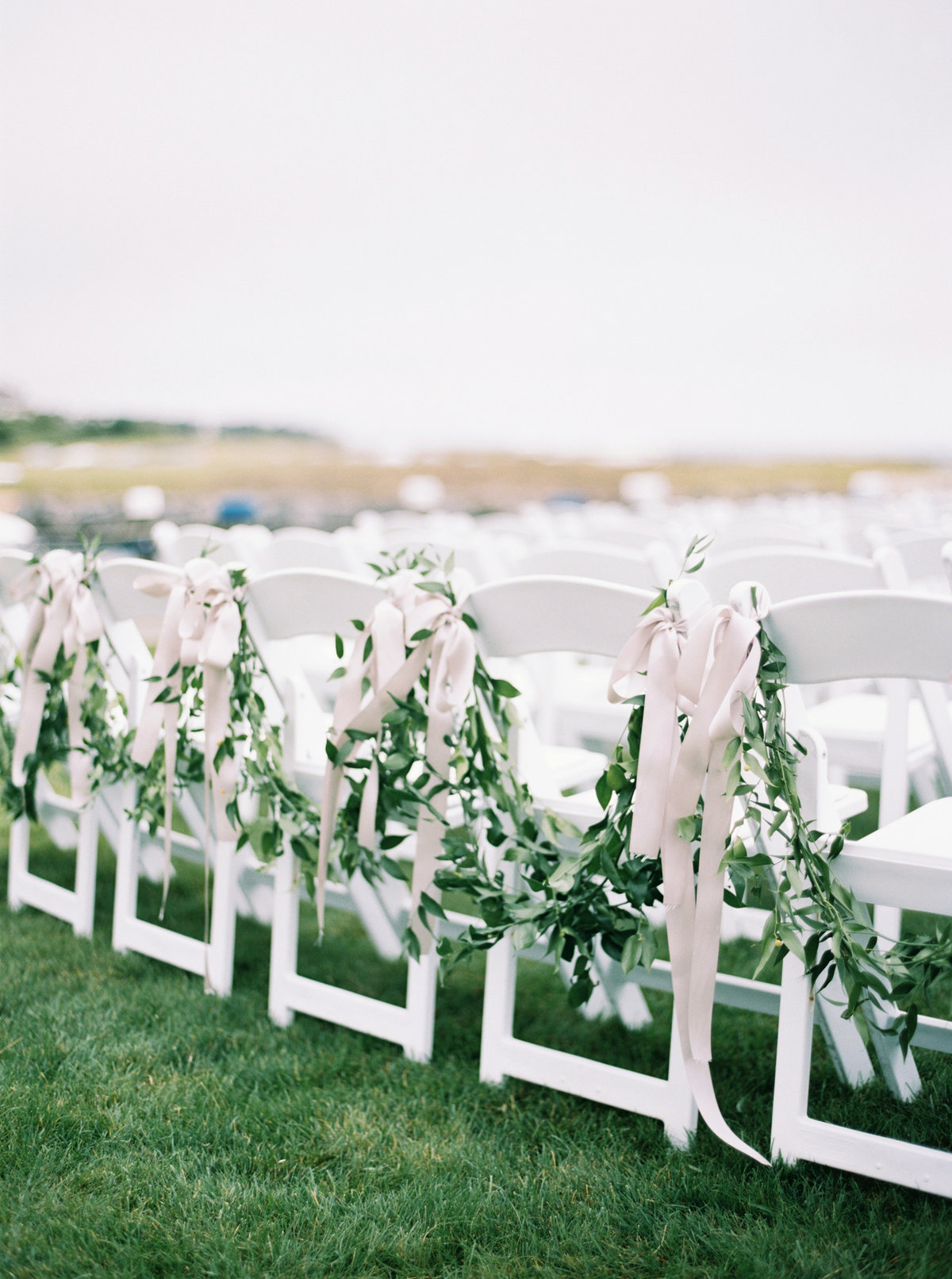 coastal ceremony at high end cape cod wedding venue