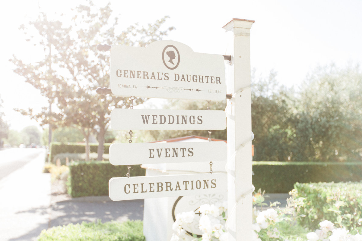 California Wine Country Weddings Generals Daughter