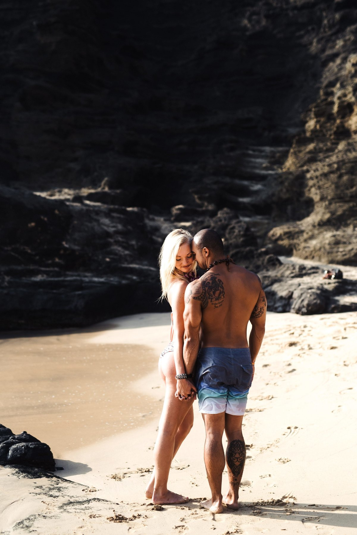Eternity Beach Honolulu Hawaii Destination Engagement Session - 89