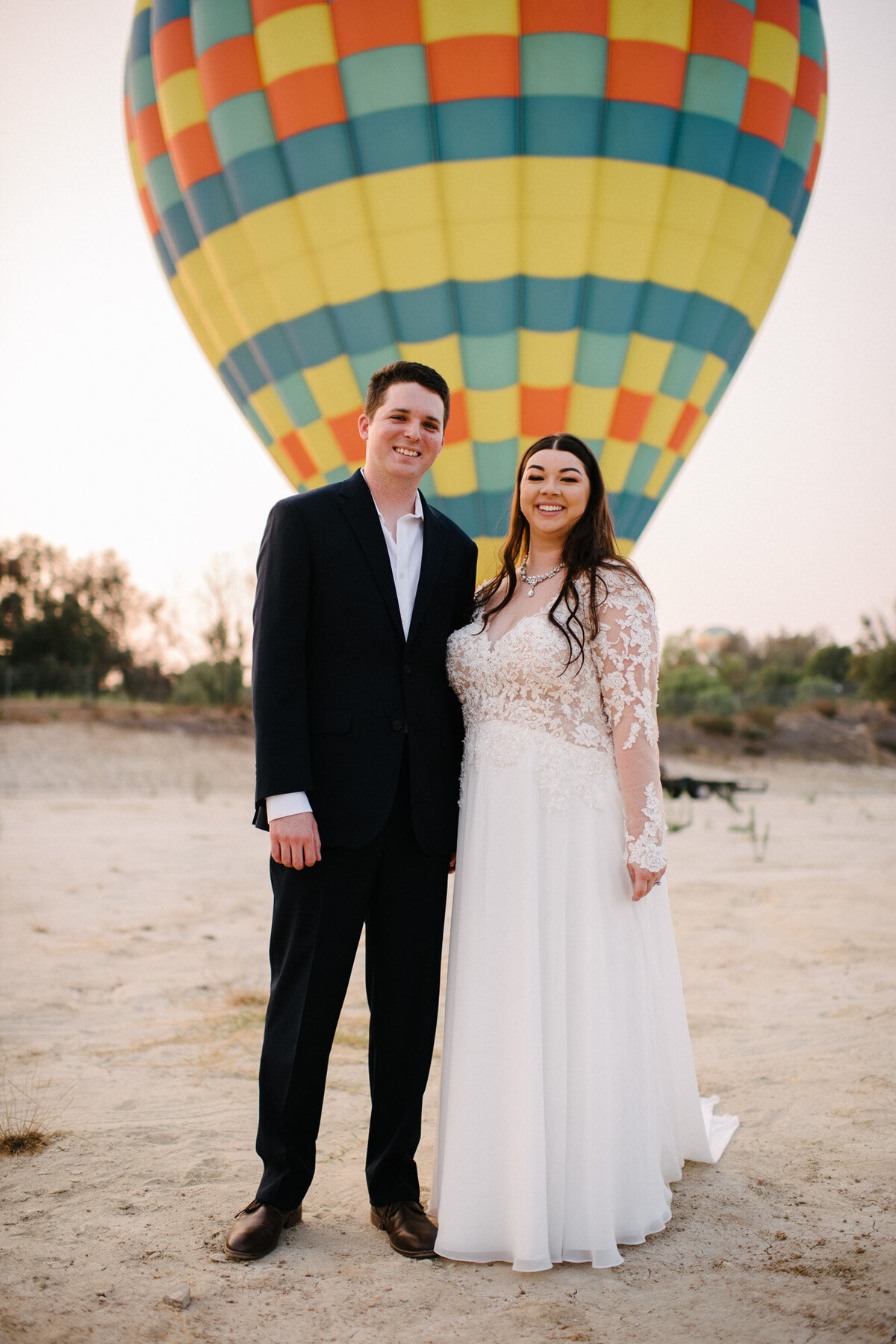 Hot Air Balloon Elopement Marie Monforte Photography-193