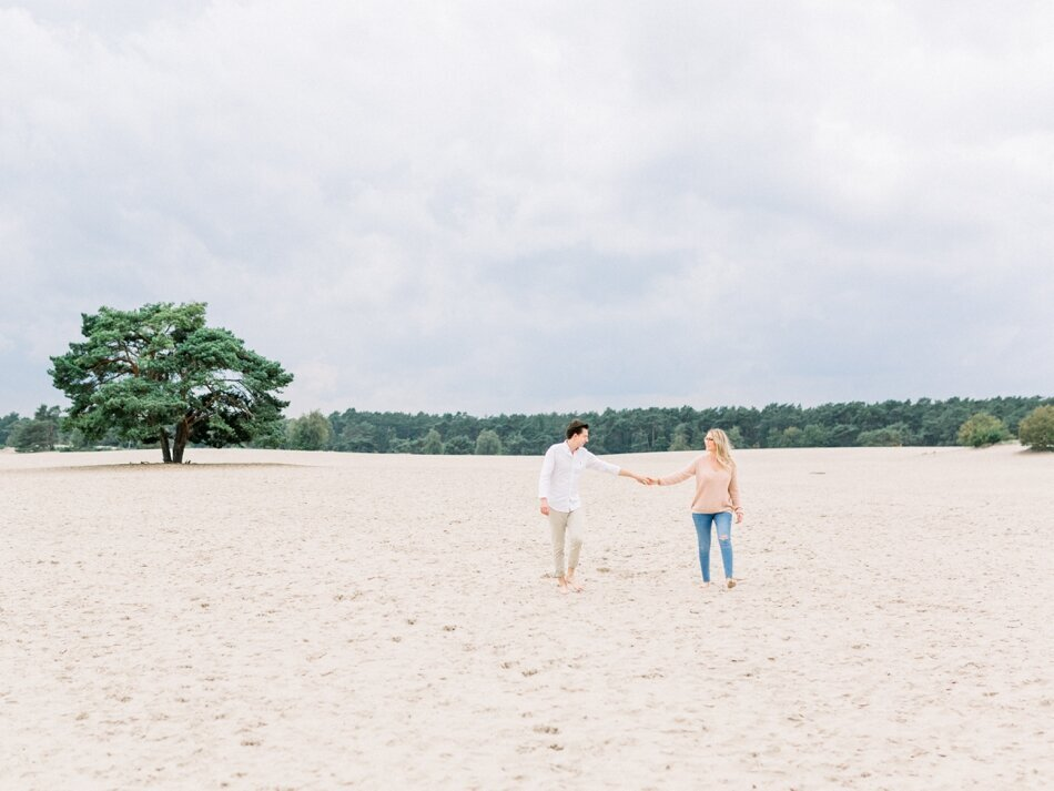 Engagement photos Soesterduinen by Fine Art Photographer Michelle Wever Photography_0025