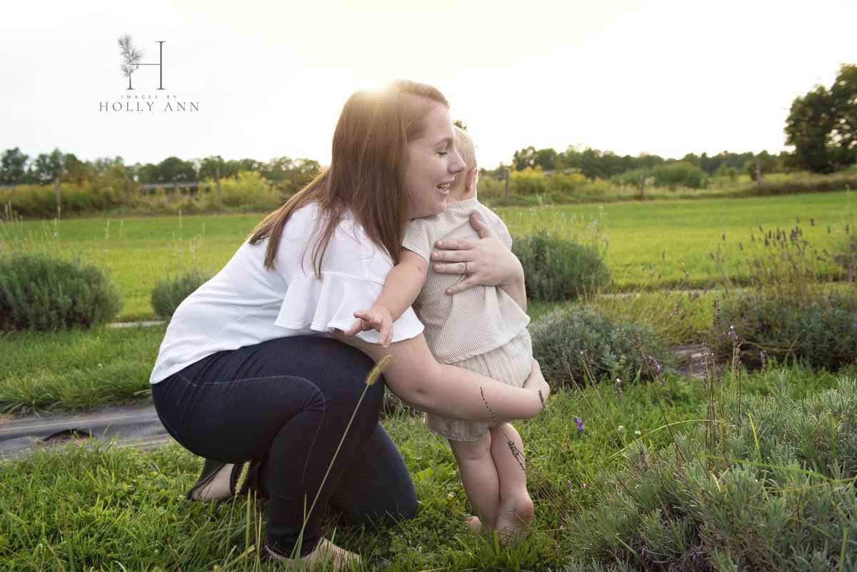 Lavenlair Farm Whitehall NY family portrait session