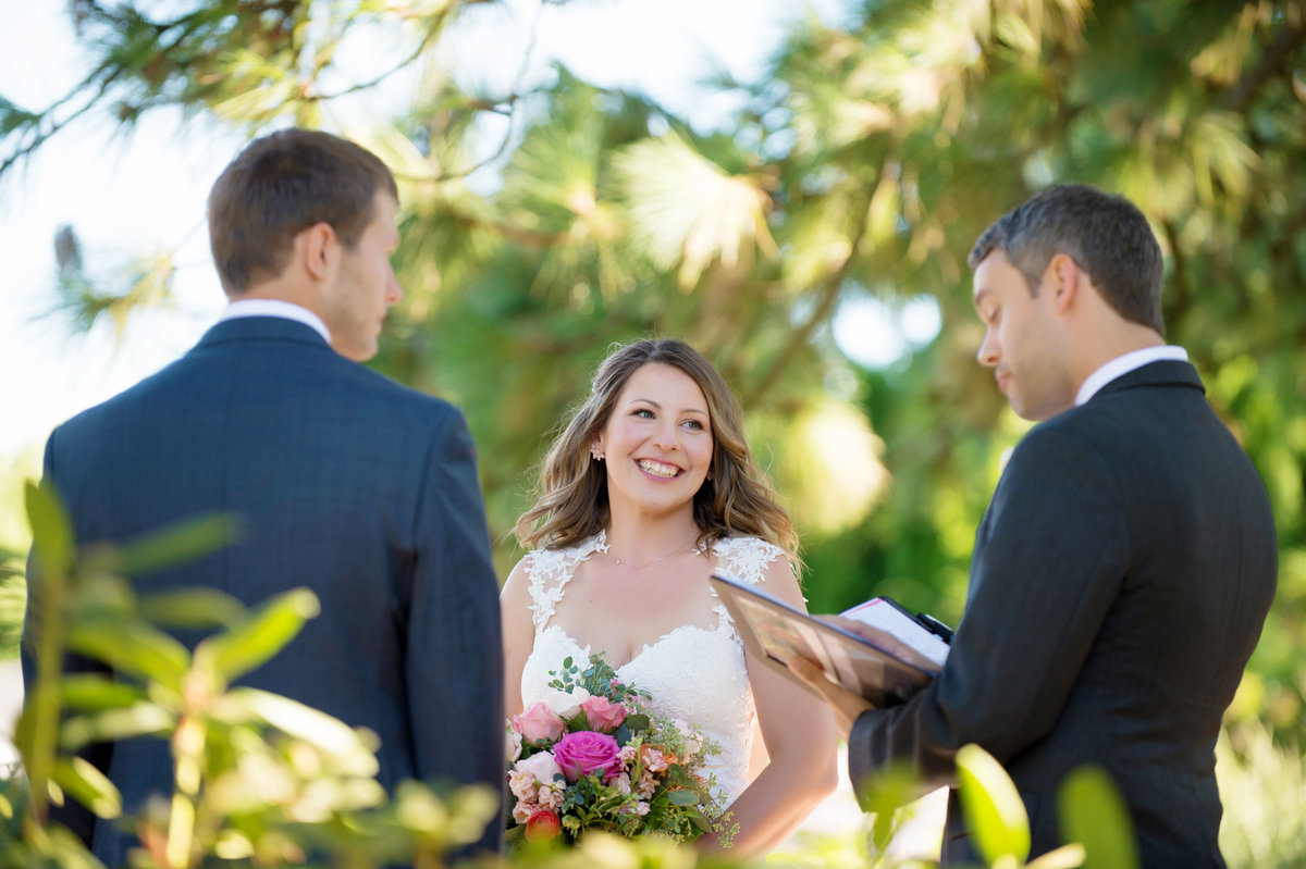 wedding day vows at ainsworth house oregon city