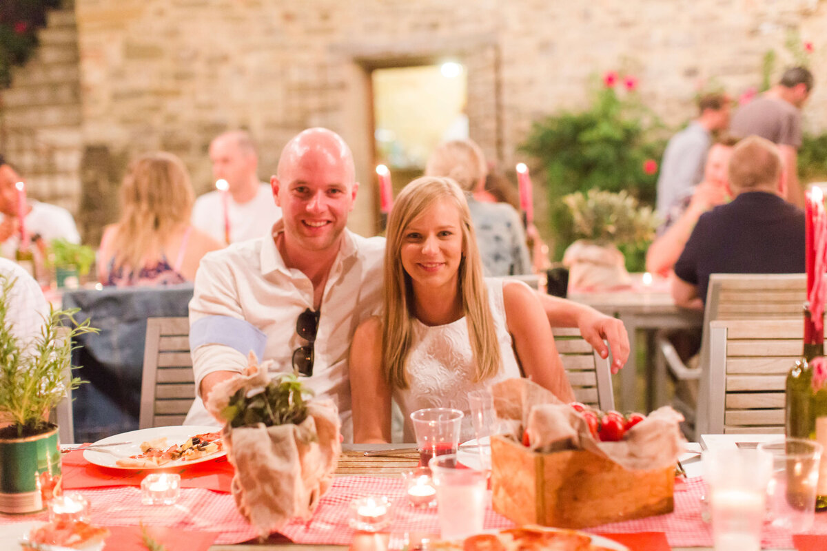 Wedding B&S - Rehearsal dinner - Umbria - Italy 2017 13