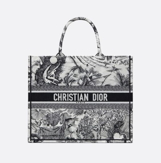 Summer pool boat DIOR tote