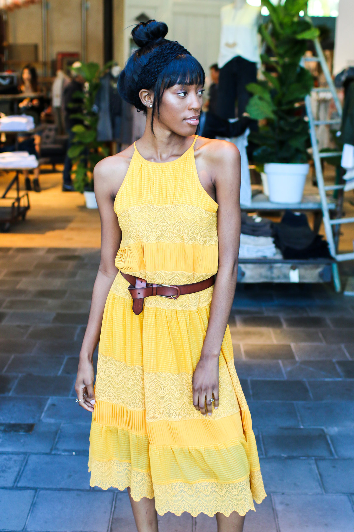 Anthropologie Fashion Show photography