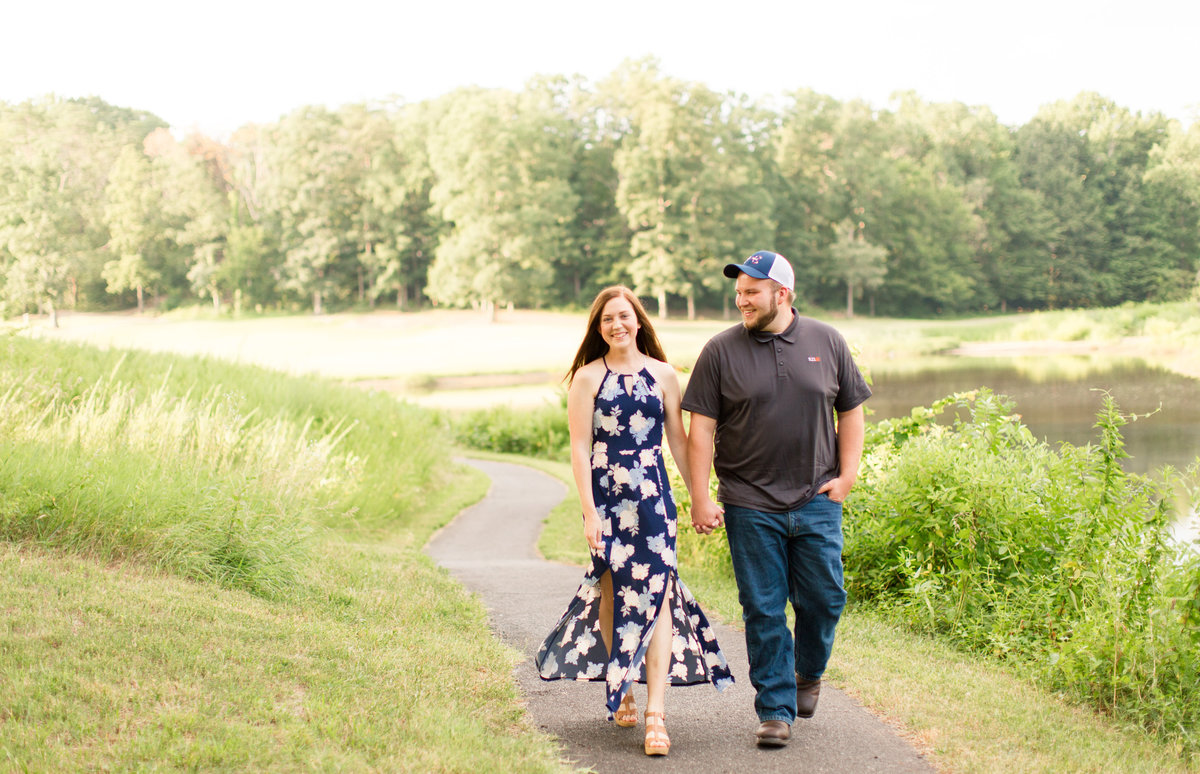 Augustine Golf club engagement and wedding by Marie Hamilton Photography