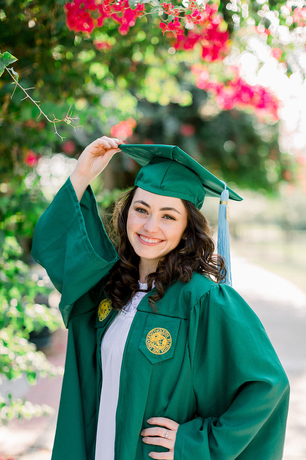 Cassidy Nathanson USF Tampa Senior Portrait Photographer Casie Marie Photography-126