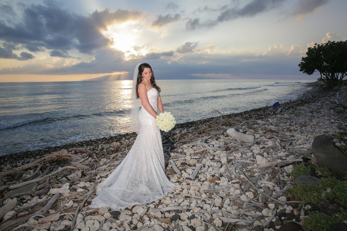 Capture Aloha Photography at The Westin Maui Resort and Spa with Beautiful Bride and Sunset