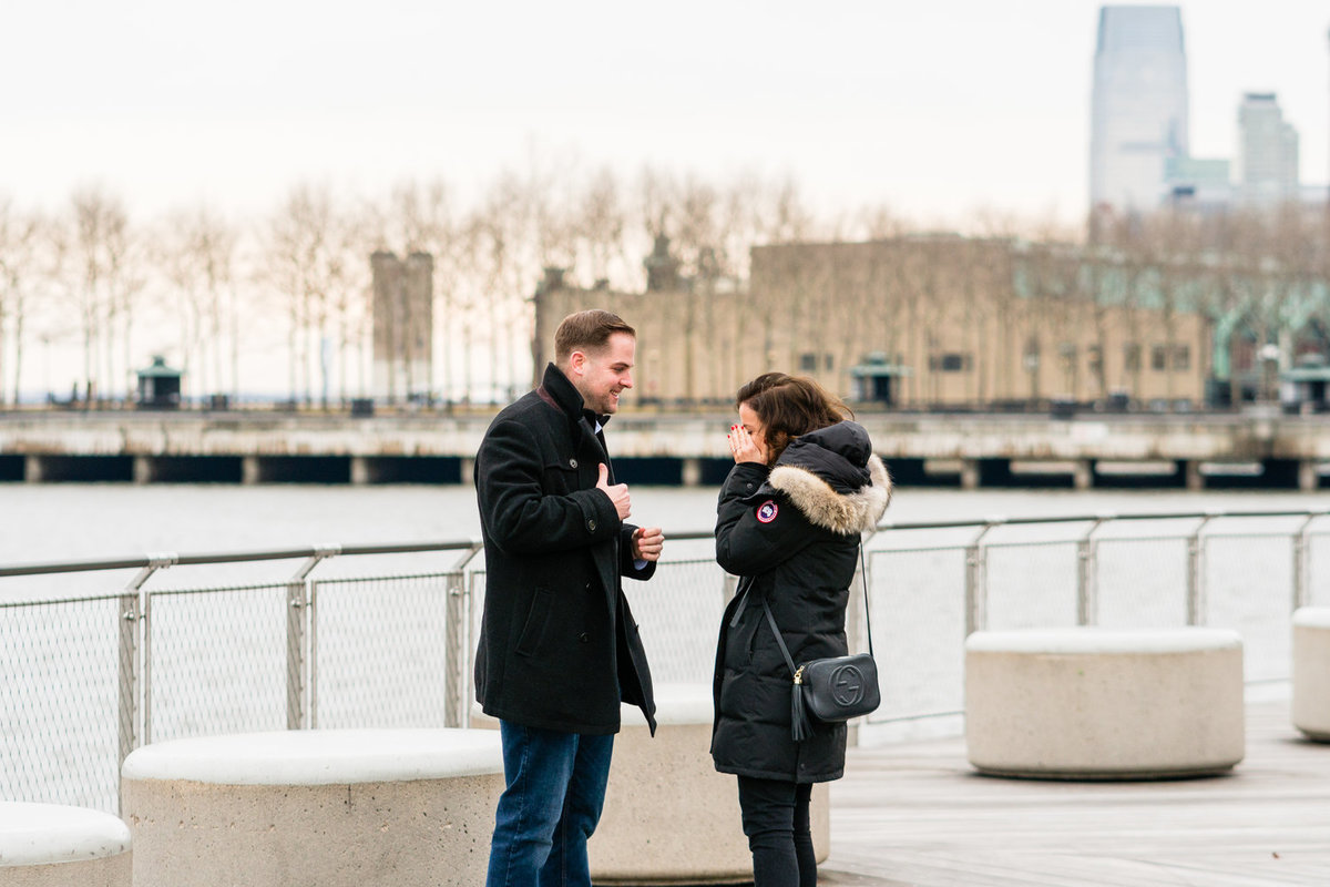 new+jersey+hoboken+waterfront+surprise+engagement+proposal+photographer